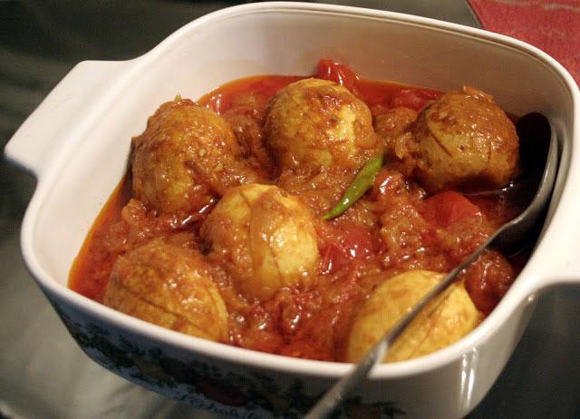 Yummy Tomato Egg Curry