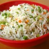 Yummy fried rice ready to serve